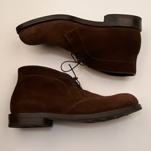 ALLEN EDMONDS Malvern Brown Suede Sz 9.5 EEE Boots